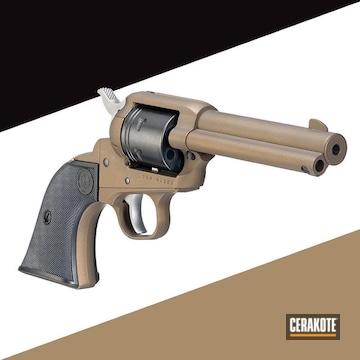 Cerakoted Revolver In H-148