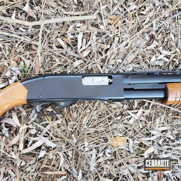 Winchester Model 120 Shotgun Cerakoted Using Gloss Black