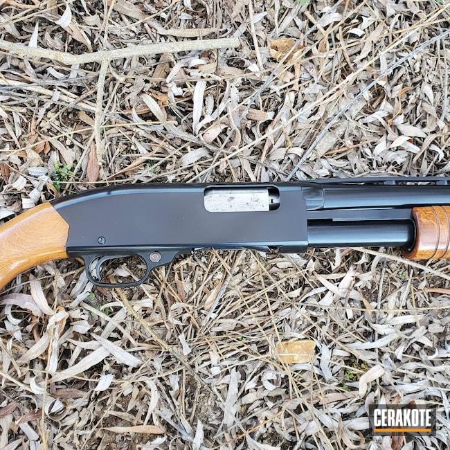 Cerakoted: S.H.O.T,Winchester,Model 120,Shotgun,Gloss Black H-109,12 Gauge