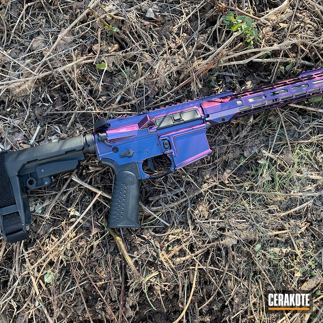 Cerakoted: S.H.O.T,AR Pistol,Graphite Black H-146,AR-15 Pistol,HIGH GLOSS ARMOR CLEAR H-300,GunCandy Mongoose,AR-15