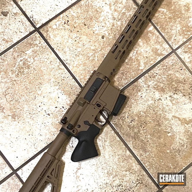 Cerakoted: S.H.O.T,Rifle,Tactical Rifle,Sig Sauer,.223,Flat Dark Earth H-265,AR-15