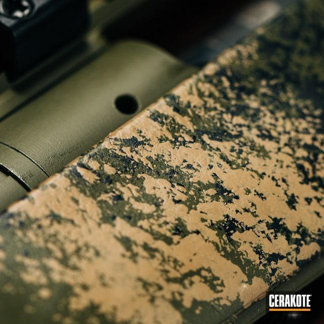 Cerakoted: S.H.O.T,Bolt Gun,Savage Arms,MAGPUL® FLAT DARK EARTH H-267,Model 110,Armor Black H-190,.308,Medford,Mil Spec O.D. Green H-240,Oregon,black flag armory,Southern Oregon,Long Range Rifle