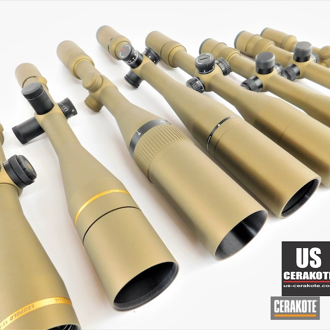 Cerakoted: S.H.O.T,vx-3i,Vortex,Fullfield,Scope,Burris Scope,Scopes,Vortex Scope,Leupold Scope,Optic,Burnt Bronze H-148,Burris,Viper,Viper HST,Leupold,Optics