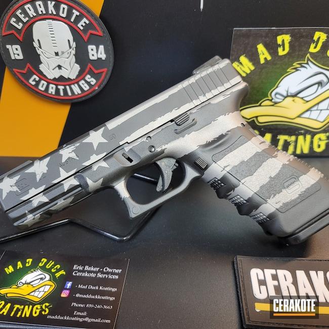 Cerakoted: S.H.O.T,NRA Blue H-171,Graphite Black H-146,SAVAGE® STAINLESS H-150,Thin Blue Line Flag,Glock 22