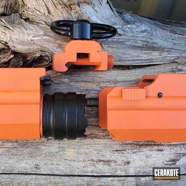 Cerakoted: S.H.O.T,Flashlight,Hunter Orange H-128
