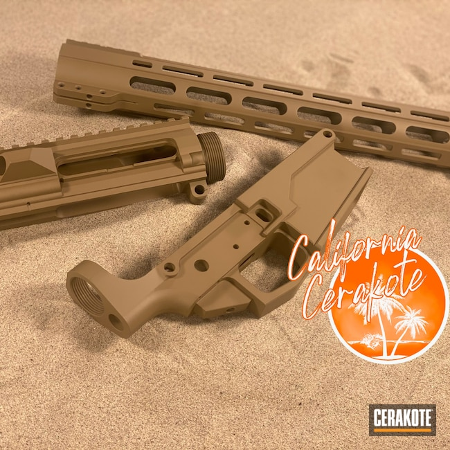Cerakoted: S.H.O.T,Coyote Tan H-235,Military Theme,Christopher Miller,california cerakote