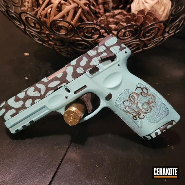 Cerakoted: S.H.O.T,9mm,Robin's Egg Blue H-175,Taurus,G3
