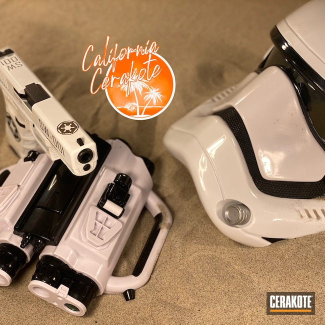 Cerakoted: S.H.O.T,Stormtrooper,Stormtrooper White H-297,Christopher Miller,Star Wars,california cerakote
