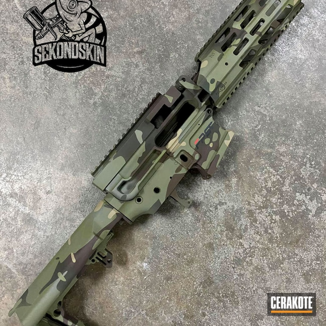 Cerakoted: S.H.O.T,Highland Green H-200,Rifles,LMG,MAGPUL® FLAT DARK EARTH H-267,MultiCam,Sniper Green H-229,BARRETT® BRONZE H-259,Ral 8000 H-8000,Airsoft,O.D. Green H-236