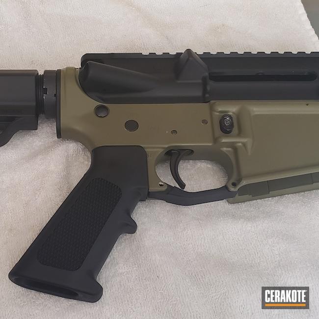 Cerakoted: S.H.O.T,.223,Noveske Bazooka Green H-189,5.56