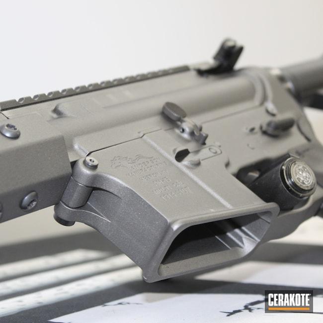 Cerakoted: S.H.O.T,AR,Classic,Anderson,Tungsten H-237,.223,AR Rifle,.223 Wylde,AM-15,5.56