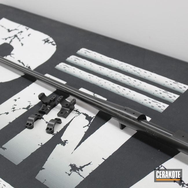 Cerakoted: S.H.O.T,Bolt Action Rifle,Bolt Gun,Bolt Action,One Color,BLACKOUT E-100,Clean,Classic,Bolt,Remington,Remington 700