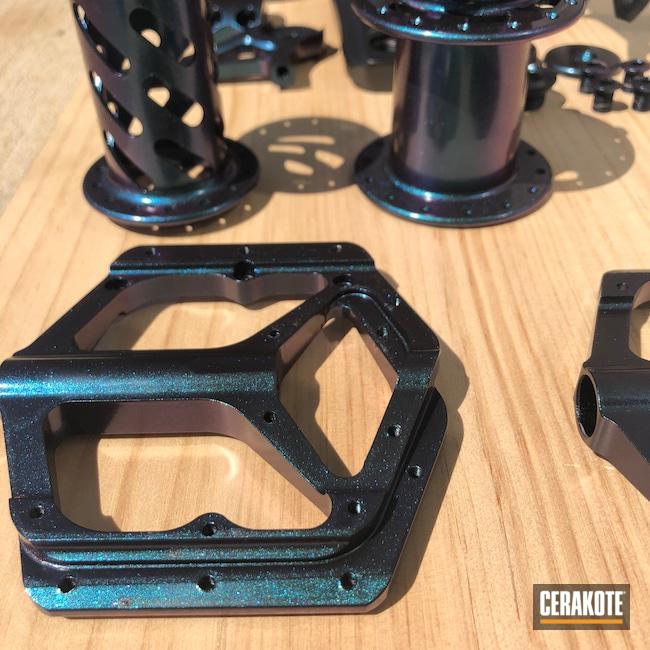 Cerakoted: Hubs,Graphite Black H-146,BMX,Cranks,GunCandy