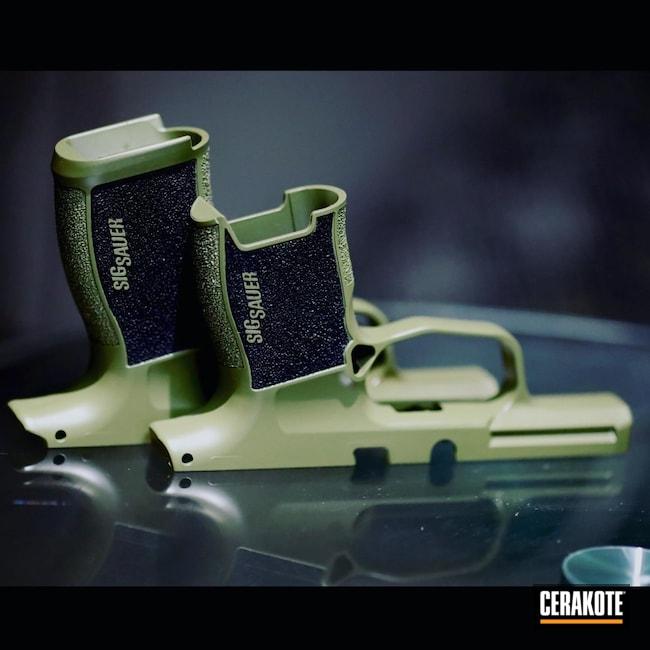 Cerakoted: S.H.O.T,Compact,Sig Sauer,Sig,Noveske,Green,Noveske Bazooka Green H-189