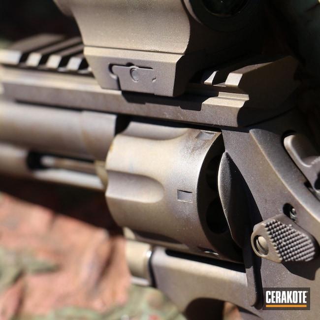 Cerakoted: S.H.O.T,Magnum,VORTEX® BRONZE H-293,.357 Magnum,Smith & Wesson,Burnt Bronze H-148