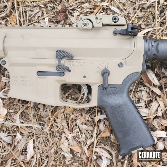 Cerakoted: S.H.O.T,Rifle,.300 Remington Ultra Magnum,Aero Precision,Rifles,MAGPUL® FLAT DARK EARTH H-267,m4e1,Tactical,Graphite Black H-146,Tactical Rifle,.300 Blackout