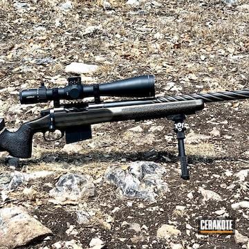 Sage Precision Bolt Action Rifle Cerakoted Using Armor Black And Burnt Bronze