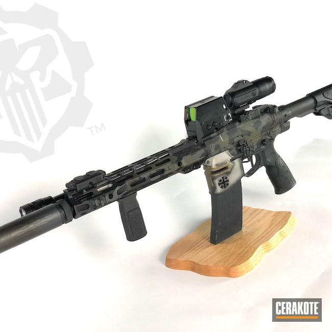 Cerakoted: S.H.O.T,SLR,AR,Burnt Bronze H-148,Armor Black H-190,Sig,.223,Mil Spec Green H-264,Crusader,AR-15