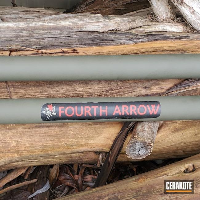 Cerakoted: S.H.O.T,Fourth Arrow,O.D. Green H-236,Camera Stand