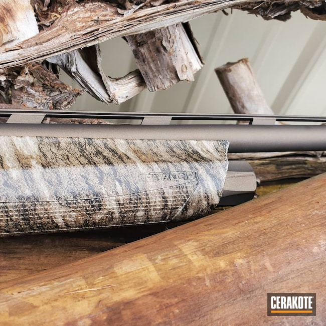 Cerakoted: S.H.O.T,Shotgun,Graphite Black H-146,MATTE CERAMIC CLEAR MC-161,Franchi,20 Gauge,Midnight Bronze H-294,Franchi Affinity