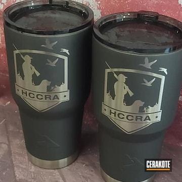 Cerakoted 30oz Cups In H-237