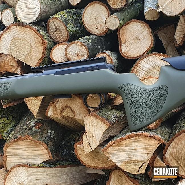 Cerakoted: S.H.O.T,Sniper Green H-229,.22LR,CZ