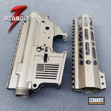 F1 Firearms Ar Builders Set Cerakoted Using Midnight Bronze