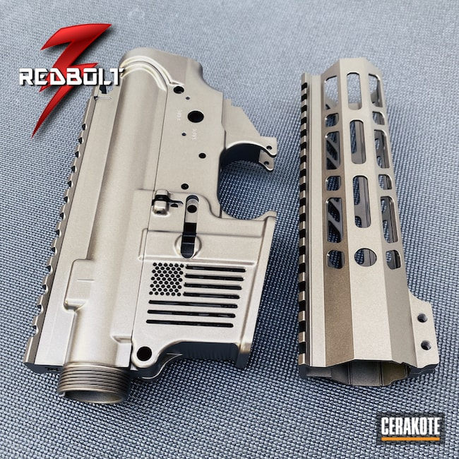 Cerakoted: S.H.O.T,F1 Firearms,Handguard,Upper,Midnight Bronze H-294,5.56,AR15 Lower