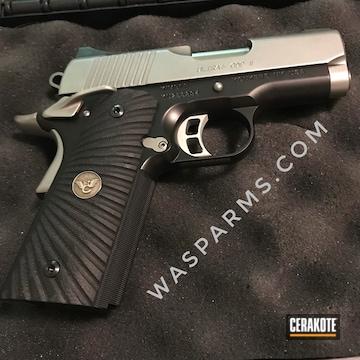 Restored Kimber Pistol Cerakoted Using Sig™ Dark Grey