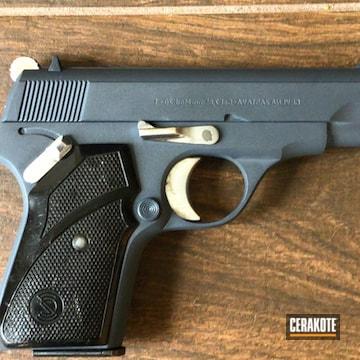 M70 Zastava Pistol Cerakoted Using Cobalt Kinetics™ Slate