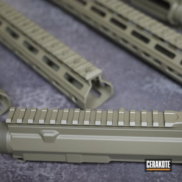 Ar-15 Handguards Cerakoted Using Magpul® Flat Dark Earth