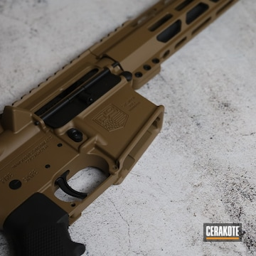 Diamondback Ar Build Cerakoted Using Copper Brown