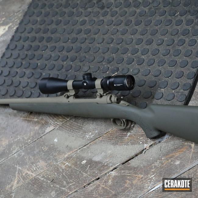 Cerakoted: S.H.O.T,Rifle,Bolt Gun,Savage Arms,Bolt Action,.30-06,Savage,Model 111,MAGPUL® O.D. GREEN H-232,GLOCK® FDE H-261,111