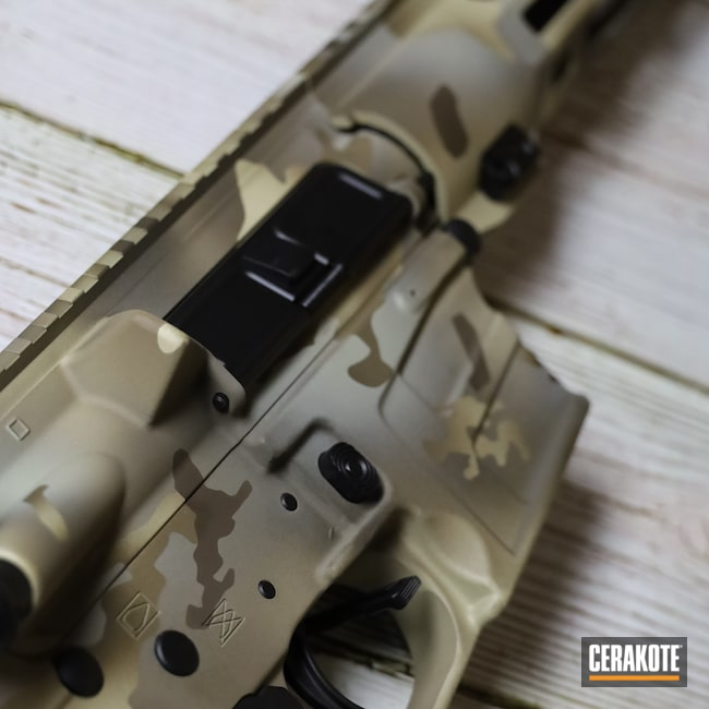 Cerakoted: S.H.O.T,Rifle,Savage Arms,MAGPUL® FLAT DARK EARTH H-267,Arid MultiCam,Savage,Tactical Rifle,msr,5.56,MultiCam,AR,Patriot Brown H-226,Camo,BENELLI® SAND H-143,MSR Pistol,Chocolate Brown H-258,AR-15