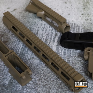 Aero Precision Ar-15 Builders Set Cerakoted Using Flat Dark Earth