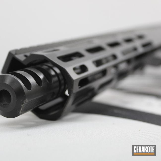 Cerakoted: S.H.O.T,AR Pistol,BLACKOUT E-100,Clean,Anderson,Black,7.62x39,Elite,7.62,AM-15,Blackout