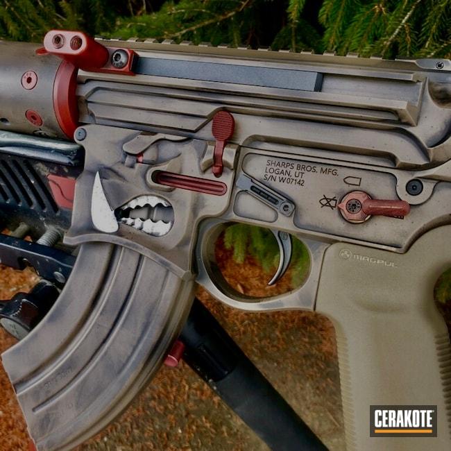 Cerakoted: S.H.O.T,Distressed,Pighunter,Crimson H-221,Hog,6.8,Warthog,Graphite Black H-146,AR,MAGPUL® FDE C-267,Sharpbros,AR Rifle,AR-15