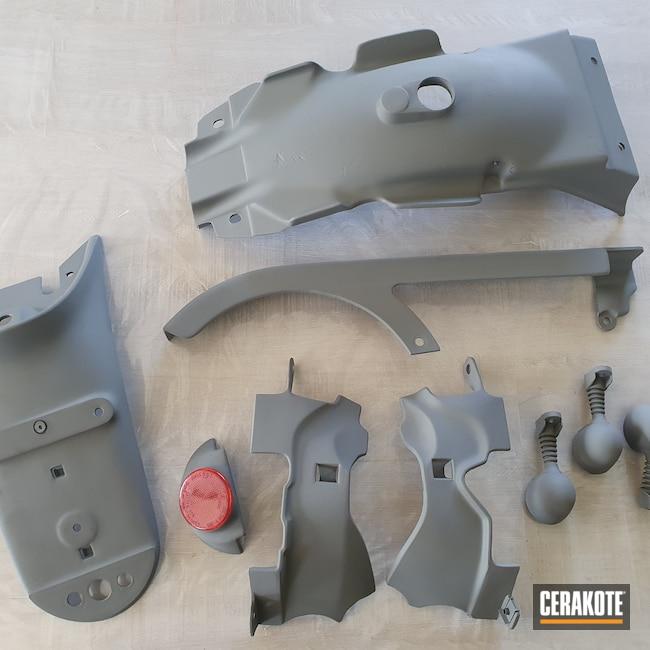 Cerakoted: Bull Shark Grey H-214,Automotive,Motorcycle