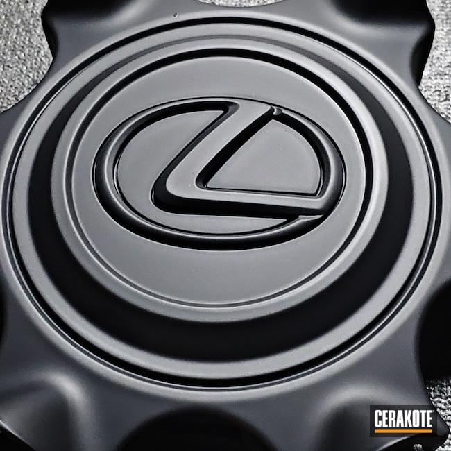 Cerakoted: S.H.O.T,Lexus,Graphite Black C-102,SUV,Wheels