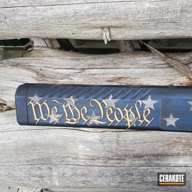 Cerakoted: Rifle,.45,Bright White H-140,Rifles,Kriss Vector,Graphite Black H-146,USMC Red H-167,Tactical Rifle,KEL-TEC® NAVY BLUE H-127,Gold H-122