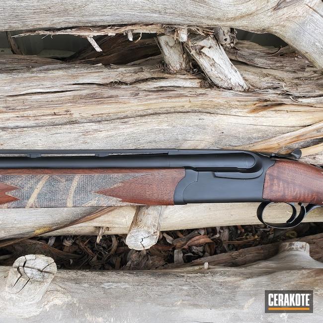 Cerakoted: S.H.O.T,Red Label,Ruger,Shotgun,Graphite Black H-146,20 Gauge