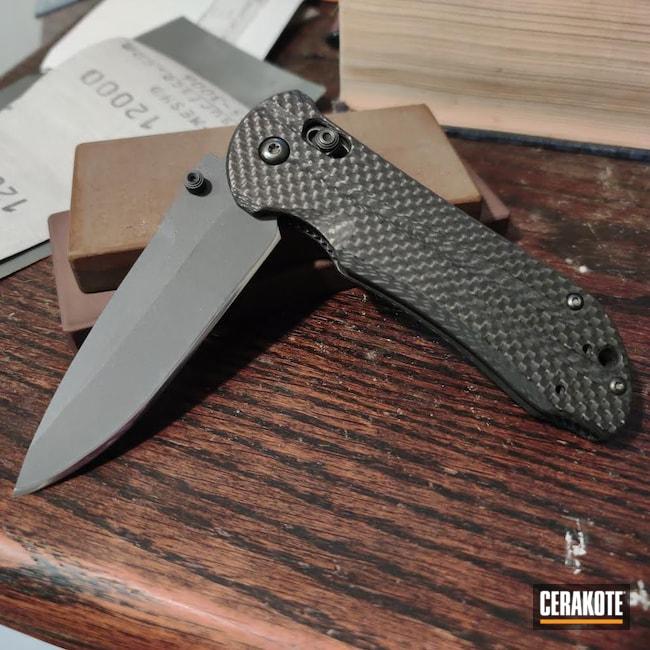 Cerakoted: S.H.O.T,Stone Grey H-262,Knife