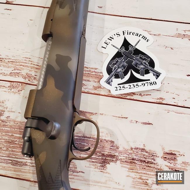 Cerakoted: S.H.O.T,Bolt Action Rifle,MAGPUL® FLAT DARK EARTH H-267,Graphite Black H-146,Camo,MAGPUL® O.D. GREEN H-232,Midnight Bronze H-294