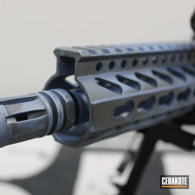 Cerakoted: X-15,Aero Precision,Tactical,AR,AR Project,Tactical Rifle,Concrete E-160,AR Rifle,AR Build,POLAR BLUE H-326,AR-15