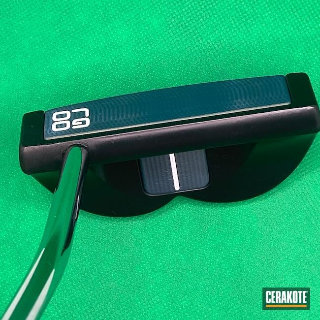 Cerakoted: S.H.O.T,Putter,Midnight Blue H-238,Scotty Cameron,NORTHERN LIGHTS H-315,Golf Clubs