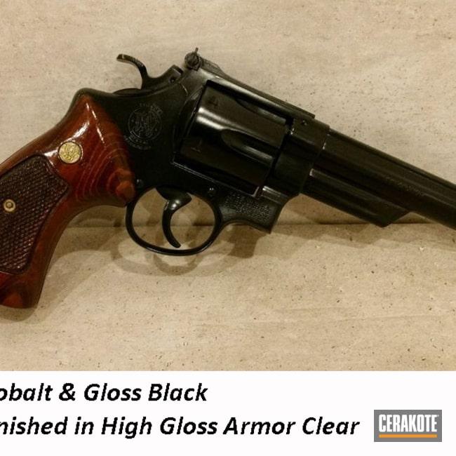 Cerakoted: S.H.O.T,Gloss Black H-109,Revolver