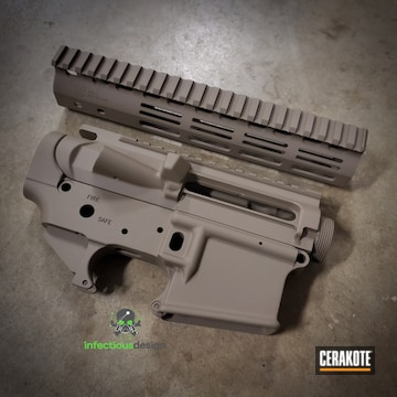 Ar Builders Set Cerakoted Using Flat Dark Earth