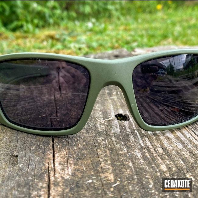 Cerakoted: S.H.O.T,Sunglasses,Oakley Sunglasses Gascan,Oakley,Glasses,MULTICAM® DARK GREEN H-341
