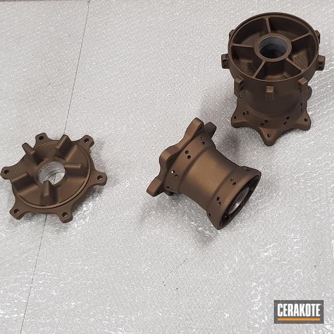 Cerakoted: Derby,Custom Bike,Burnt Bronze H-148,Automotive,Motorcycle