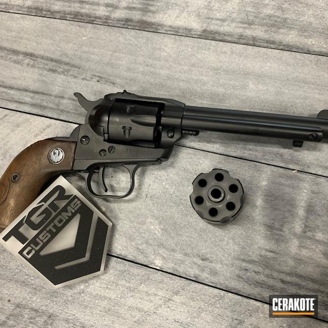 Cerakoted: S.H.O.T,Midnight Blue H-238,Ruger,Revolver,Ruger Revolver,Single Six